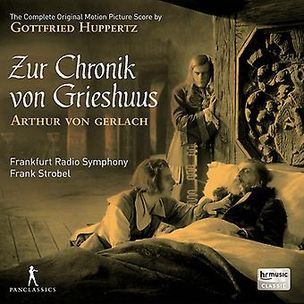Huppertz / Frankfurt Radio symfoni / Strobel - Gottfried Huppertz: Zur Chronik Von Grieshuus [CD] USA import