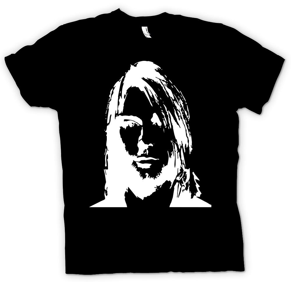 Kids T-shirt - Nirvana - Kurt Cobain - Sketch