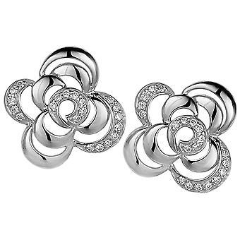 Orphelia sølv 925 ørering Zirconium ZO-5250