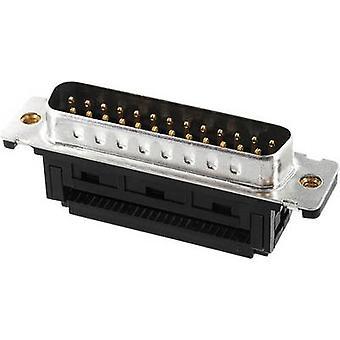 Econ ansluta ST15SK/FGOZ D-SUB pin strip 90 ° antal stift: 15 skär & klipp 1 dator