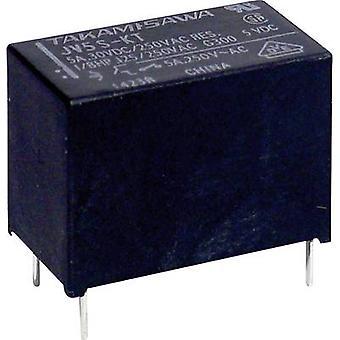 Takamisawa JV-12S-KT PCB relays 12 Vdc 5 A 1 maker 1 pc(s)