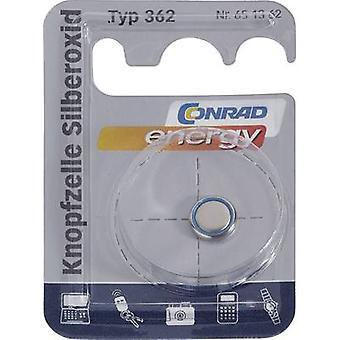 Button cell SR58, SR721 Silver oxide Conrad energy SR58