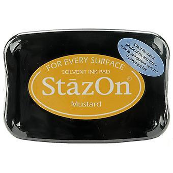 StazOn Solvent Ink Pad-Mustard