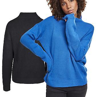 Urban classics ladies - oversized Turtleneck Sweater pullover