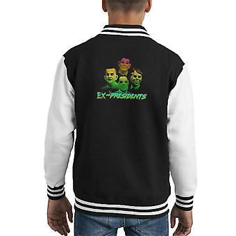 Ex Presidents Appreciation Kid's Varsity Jacket