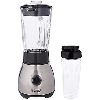 Russell Hobbs 23821 Stain Steel Glass 600W 2-in-1 Jug Blender