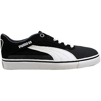 Puma Maeko S Jr Dark Shadow/Black-White 353092-04 Grade-School