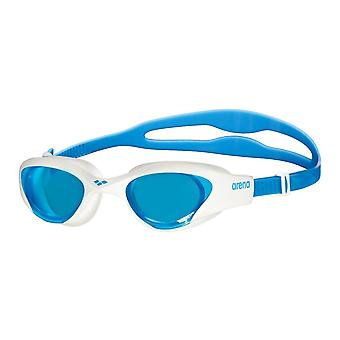 Arena The One Adult Swimming Googles-Blue Lens-Blue/White
