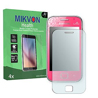 Samsung S6802 Galaxy Ace Duos La Fleur Edition Screen Protector - Mikvon Health (Retail Package with accessories)
