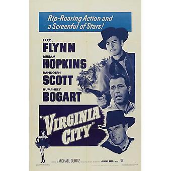 Affiche du film Virginia City (11 x 17)