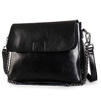 Shoulder handbag in genuine cow leather K8604S