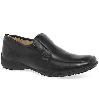 Anatomic & Co Parati Cognac Leather Slip On Shoe