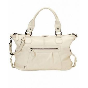 OiOi Soft Ivory Nappa Leather Changing Bag