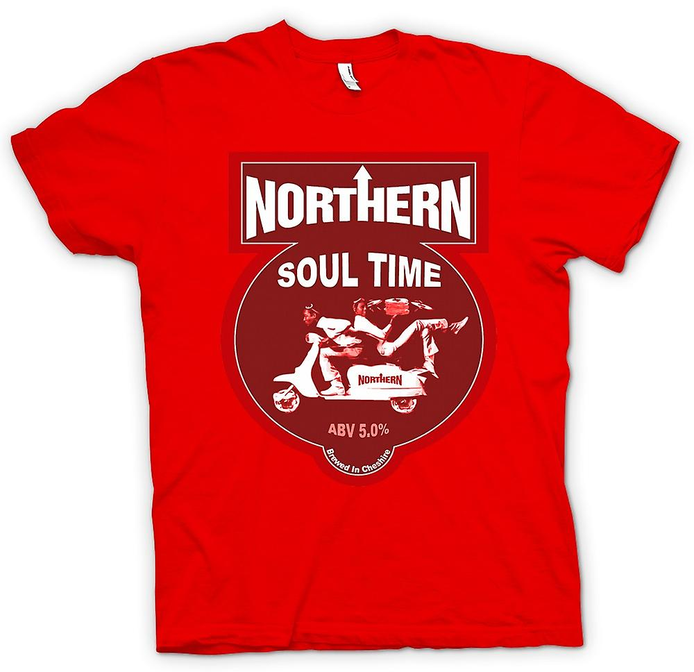 Mens T-shirt - Northern Soul Scooter Vespa