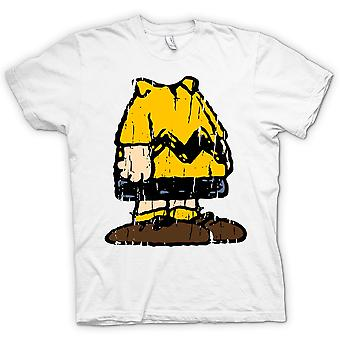 Mens T-shirt - Charlie Brown Costume Design