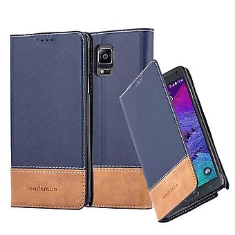 Cadorabo sleeve for Samsung Galaxy touch 4 - mobile case with stand function and card cover from an artificial leather suits - case cover sleeve pouch bag book