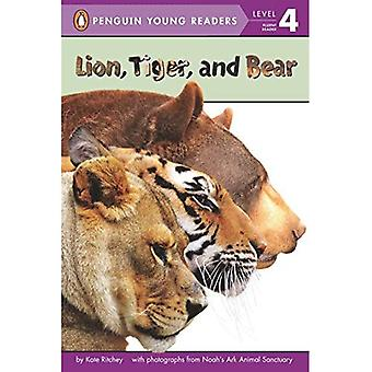 Lion, Tiger, and Bear (Penguin Young Readers: Level 4)