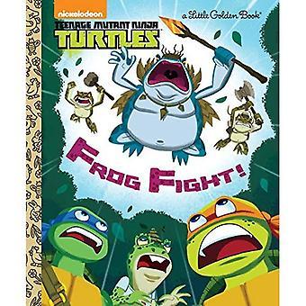 Kikker strijd! (Teenage Mutant Ninja Turtles) (Gouden boekje)