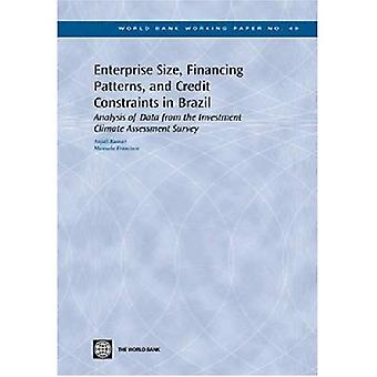 Enterprise Size, Financing Patterns and Credit Constraints in Brazil