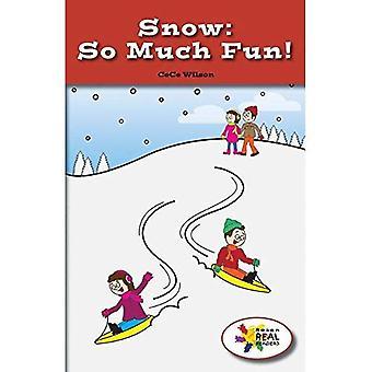 Beaucoup de plaisir de la neige! (Lecteurs de Rosen Real: tige et Collection de vapeur)