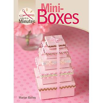 Mini-Boxes (Make it in Minutes)