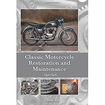 Klassisches Motorrad Restaurierung und Wartung
