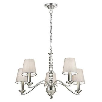 Astaire Indoor Ceiling Pendant - Endon ASTAIRE-5SN