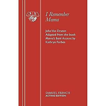 Jag minns Mama: Play (tillförordnad Edition S.)