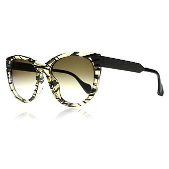 Fendi FF0181/S VDWCC Yellow / Print 0181/S Cats Eyes Sunglasses Lens Category 2 Lens Mirrored Size 54mm