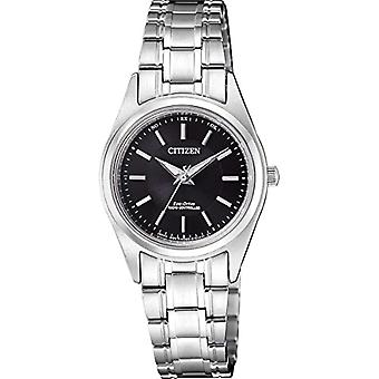 Citizen watch ladies Solar Analog with stainless steel strap ES4030-84E