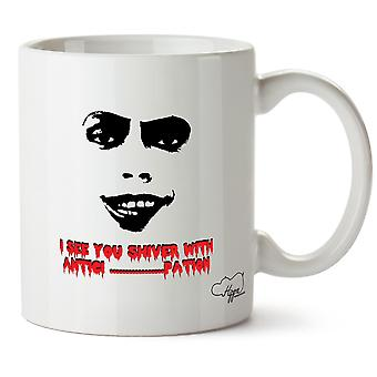 Hippowarehouse I See You Shiver With Antici.Pation! Frank N Furter Silhouette Printed Mug Cup Ceramic 10oz