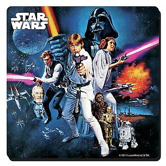 Star Wars (New Hope) single drinks mat / coaster (hb)