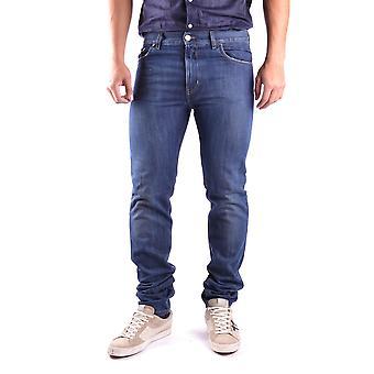 Marc Jacobs Blue Cotton Jeans