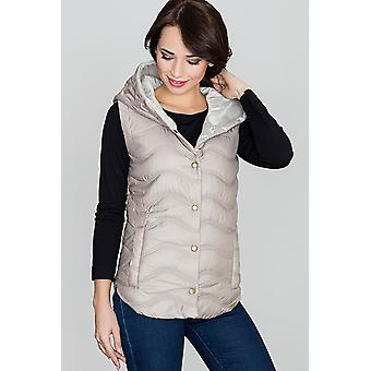 Lenitif ladies vest beige