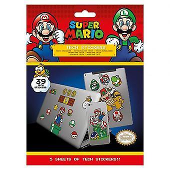 Super Mario Tech Stickers
