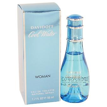 COOL WATER by Davidoff Eau De Toilette Spray 1.7 oz / 50 ml (Women)