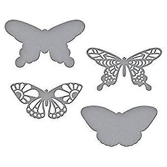 Spellbinders Wandering Butterflies Die (S3-327)