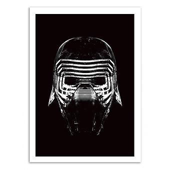 Konst-affisch-Star Black Heritage-Rubiant 50 x 70 cm