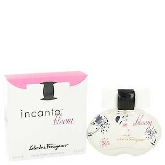Incanto Bloom de Salvatore Ferragamo Eau De Toilette Spray (nouveau emballage) 3,4 Oz (femmes) V728-483622