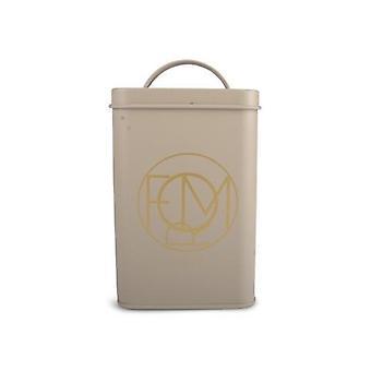 Coffee jar Sheet Beige/Gold