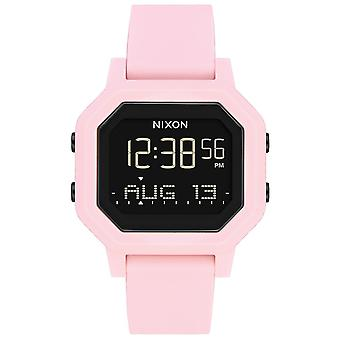 Nixon the Sirene Watch for Digital Quartz Woman with Silicone Bracelet A12103154