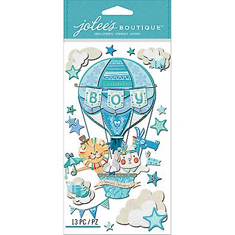 Jolee's Boutique Dimensional Stickers Baby Boy Special Delivery E5050626