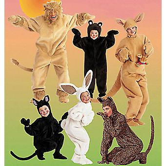 Adults' Kids' Animal Costumes  Sml Pattern M6106  Sml