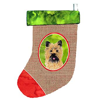 Carolines Treasures  SC1011-CS Cairn Terrier Christmas Stocking SC1011