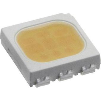 SMD LED PLCC6 Warm white 5900 mcd 120 ° 20 mA 3.25 V Everlight Opto
