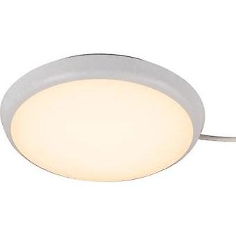 LED bathroom ceiling light 12 W Warm white Heitronic 27004 Ulla White
