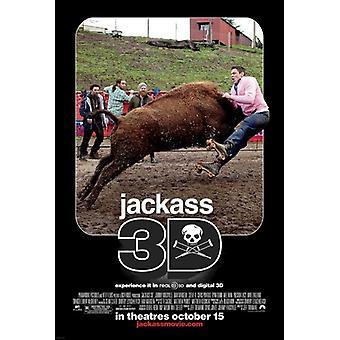 Jackass 3-D Movie Poster Print (27 x 40)