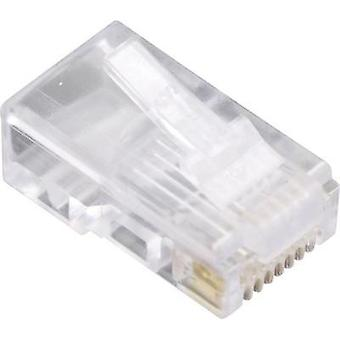 BEL Stewart Connectors 940SP3088R 1400-1000-10 RJ45 Plug, straight Glassy