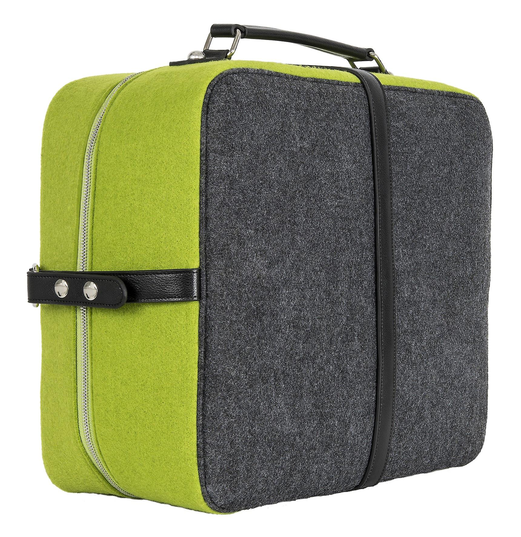 Burgmeister ladies/gents suitcase/weekender felt, TBM3030-168