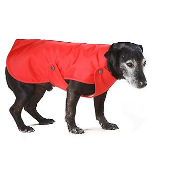 Lined Raincoat Style A Red 20cm (8